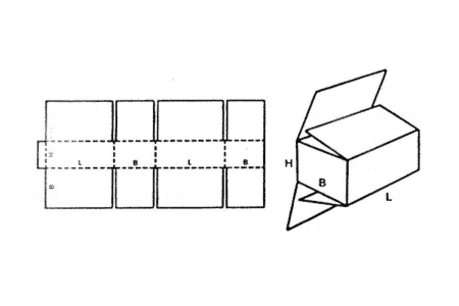 FEFCO 0203 Tam Kapaklı Kutu
